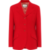 GUCCI Wool and silk drill blazer - Sakoi -