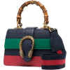 GUCCI blue green and red Dionysus Mini T - Carteras -