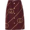 GUCCI buttoned skirt - Skirts -
