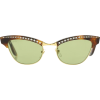 GUCCI embellished cat-eye sunglasses - Sunglasses -