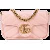GUCCI micro GG Marmont bag - Carteras -