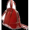 GUCCI red patent leather bag - Borsette -
