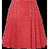 GUCCI red printed skirt - Suknje -