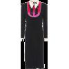 GUCCI satin trimmed dress - Dresses - $2,700.00