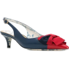 GUCCI sling-back pump with Web bow 730 € - Classic shoes & Pumps -