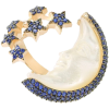 Gab+Cos Designs Crescent and Star ring - Rings -