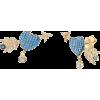 Gabi Rielle heart arrow earrings - Aretes -