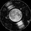 Galaxy Tunes vinyl moon - Illustraciones -