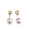 Gale bijeli biser 13 - Earrings -