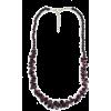 Garnet Necklace - Necklaces -
