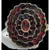 #Garnet #Ring #Bohemian #Antique - Rings - $149.00