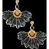 Gas Bijoux 'Gaia' Feather Drop Earrings - Naušnice -