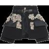 Gem Embellished Skirt - Skirts -