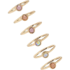 Gem Ring Set - Rings -
