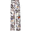 Gestuz Floral-print Wide-leg Trousers - Capri & Cropped -