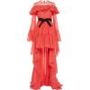 Giambattista Valli Asymmetric Ruffled Si - Dresses -
