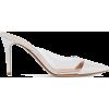 Gianvito Rossi - Patent & PVC mules - Klasični čevlji - $550.00  ~ 472.39€