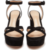 Gianvito Rossi Suede Platform Sandals - Sandals -