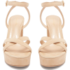 Gianvito Rossi Suede Platform Sandals - Sandale -
