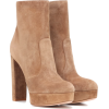 Gianvito Rossi Tan Ankle Boots - 靴子 -