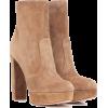 Gianvito Rossi Tan Ankle Boots - 靴子 -