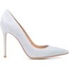 Gianvito Rossi pointed suede panel pumps - Classic shoes & Pumps -