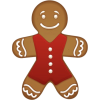 Gingerbread Cookie - Comida -