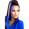 Girl People Blue - Ljudi (osobe) -