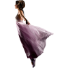 Girl Vintage Purple People - People -
