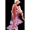 Girl Vintage Pink People - People -