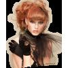Girl Vintage Orange People - People -