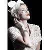 Girl Vintage White People - People -