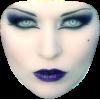 Girl Vintage Purple People - People -