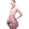 Girl Vintage Pink People - People -