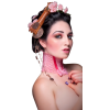 Girl Vintage Pink People - Personas -