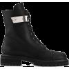 Giuseppe Zanotti Alexa logo plate boots - Boots -
