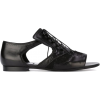 Givenchy cut out brogues - Flats -