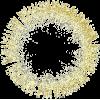 Glitter round frame - Marcos -