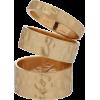 Gold Beaten Stack Ring - Ringe -