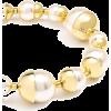 Gold-Capped Pearl Bracelet Zenzii - ブレスレット - $38.00  ~ ¥4,277