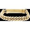Gold Molded Chain Bracelet - Bracelets -