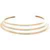 Gold-plated choker - Colares -