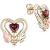 Gold 5.0mm Heart-Shaped earrings - Ohrringe - $269.99  ~ 231.89€