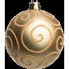 Gold Christmas bauble - Articoli -