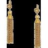 Gold Dangle Earrings - Kolczyki -