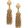 Gold Dangle Earrings - Earrings -