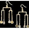 Gold Earrings - Brincos -