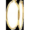 Gold Hoop earrings - Kolczyki -