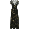 Gold Lame Star Print by RED VALENTINO - Dresses -