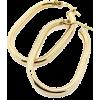 Gold Long Hoop - Ohrringe -